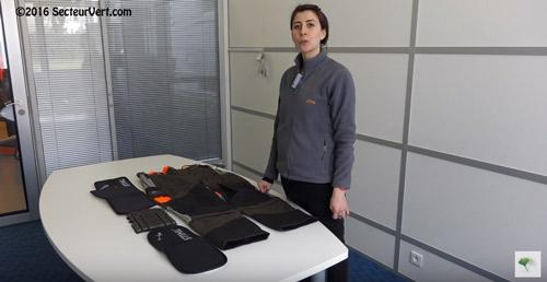 ANDREAS-STIHL-SAS-Marie-inserer-les-protections-dans-Pantalon-HS MULTI-PROTECT-2016
