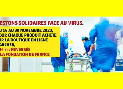 KARCHER OPERATION COVID 19 FONDATION DE FRANCE NOVEMBRE 2020 A